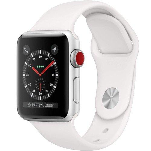 Refurbished Buy Apple Watch Series 3 Silver Cellular