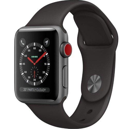 Refurbished Buy Apple Watch Series 3 Space Grey Cellular
