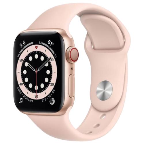 Refurbished Apple Watch Series 6 Gold Cellular